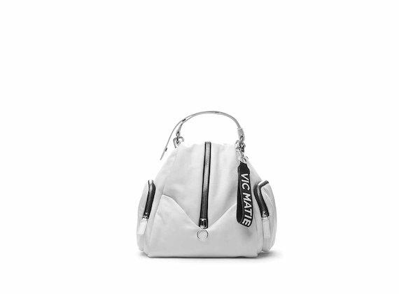 Mini-Rucksack Carol mit mittigem Reißverschluss