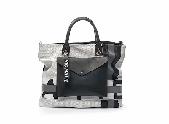 Julie shopper bag with logo