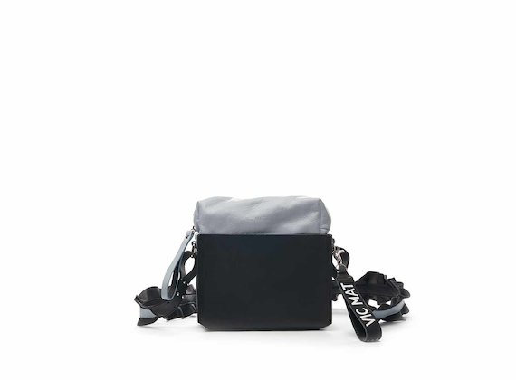 Jodi shoulder bag with ruched shoulder straps