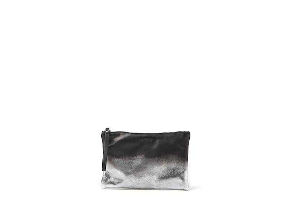 Lia<br />pochette con lamina metallica