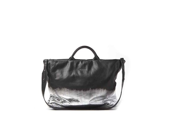 Jennifer<br />shopper bag with metallic coating