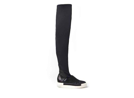 Overknee-Stiefel mit Sneaker-Sohle