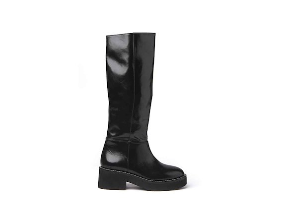 Naplak stove pipe boots with rubber sole