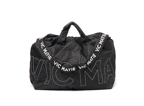 Penelope <br />Black reversible backpack