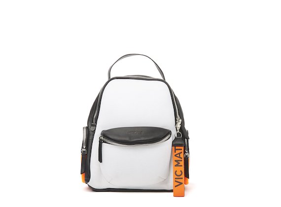 Asia <br />Technical fabric backpack with side pockets