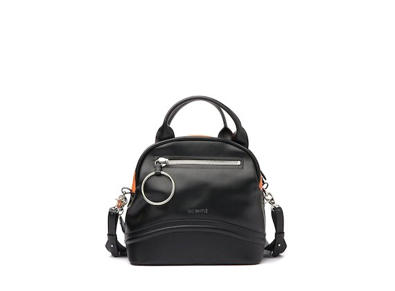 Elenoire<br />Colour block bowler bag
