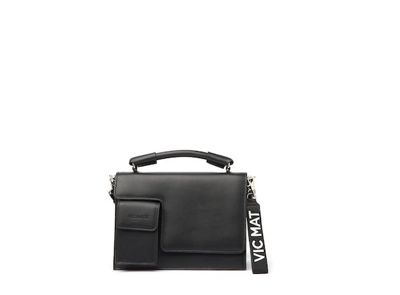 Corinne<br />Black satchel