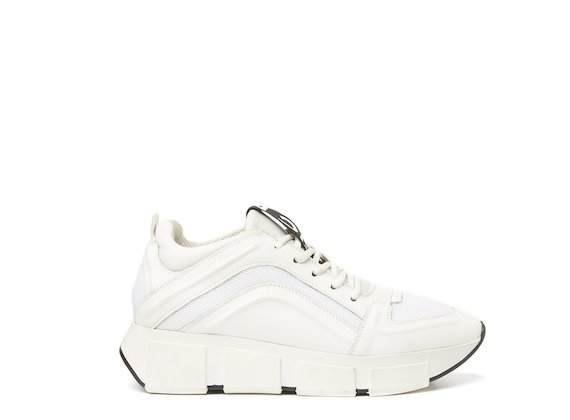 Running shoe total white