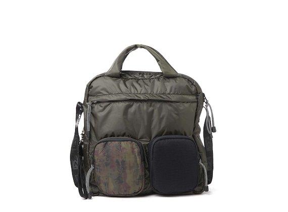 Dakota<br>Totebag mit mehreren Taschen, Camouflage