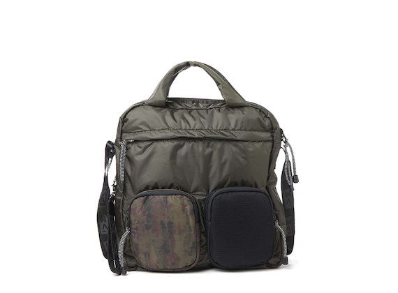 Dakota<br>Tote bag camo multitasche