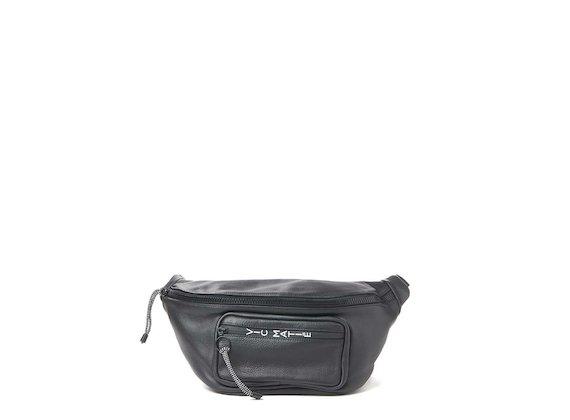 Andrea<br>Maxi bum bag and mini backpack