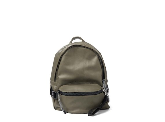 Parker<br>Green backpack with removable bum bag