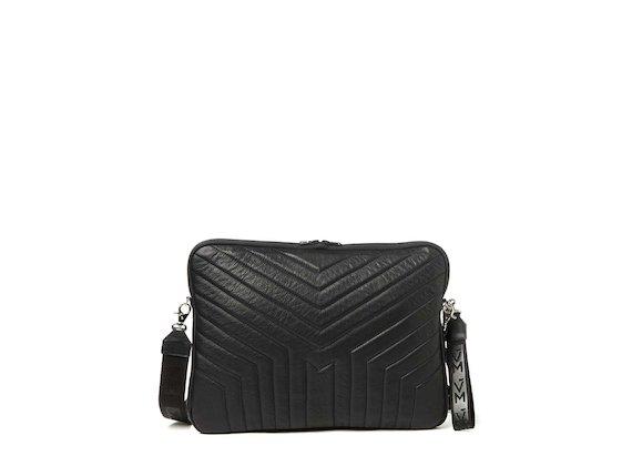 Geo<br>Laptop-Tasche, schwarz