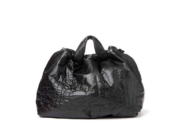 Penelope<br>Black nylon foldaway bag