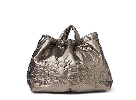 Penelope<br>Sac à dos en nylon repliable bronze - Laminé