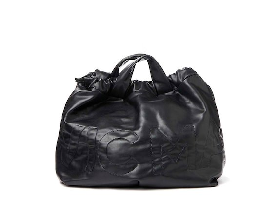 Penelope<br>Eco-leather foldaway bag