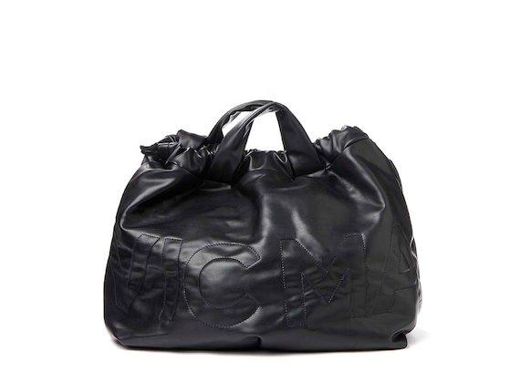 Penelope<br>Eco-leather foldaway bag