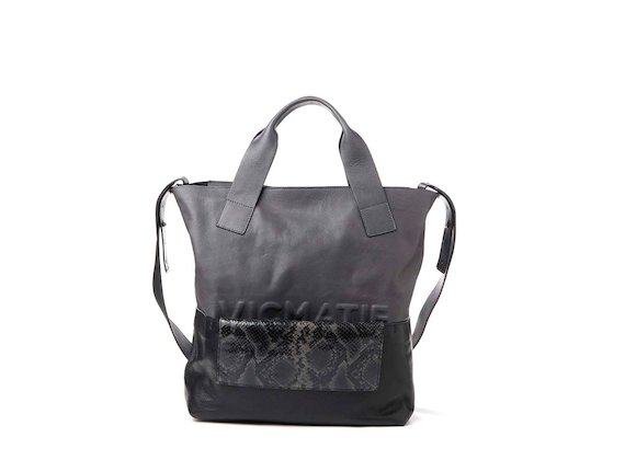 Petra<br>Shopping bag con pochette estraibile