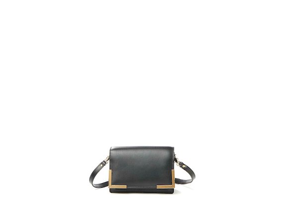 Talita<br>Mini bag con angoliere metalliche