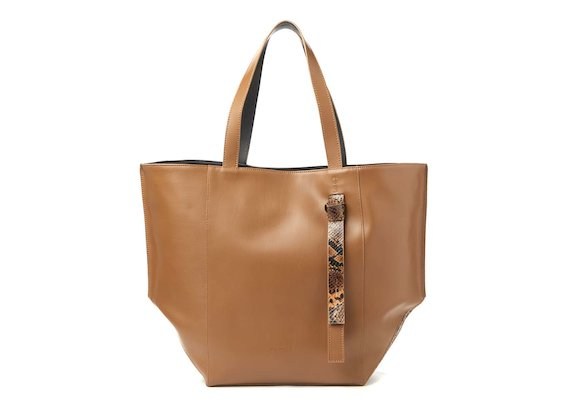 Scarlett<br>Shopper bag with knotted handle