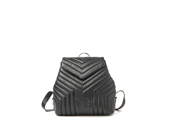 Kai<br>Backpack with quilting and logo