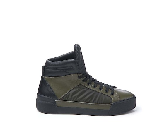 Army green trainer