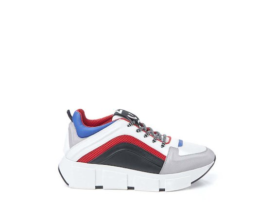 Laufschuh in Color-Block-Optik