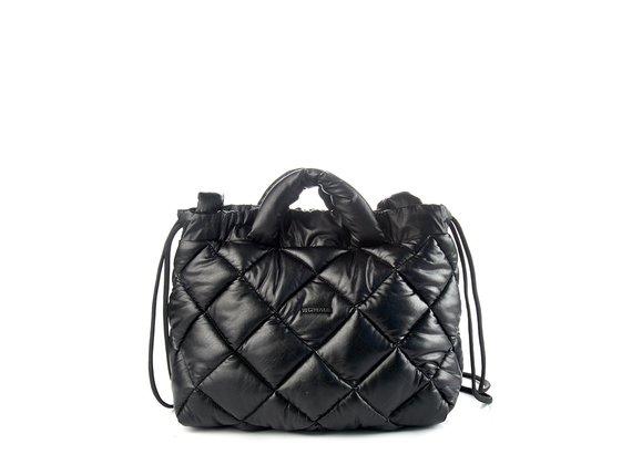 Puffy<br />Black bag/backpack