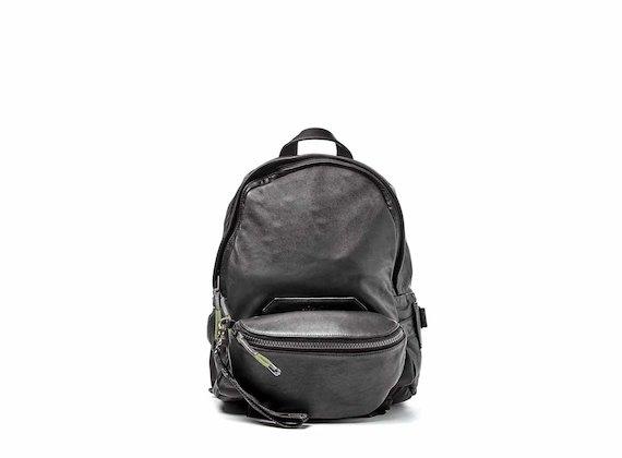 Parker<br />Sac à dos noir avec sac de taille