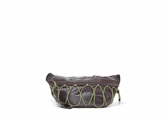 Hendrix<br />Maxi sac de taille avec élastique - Noir
