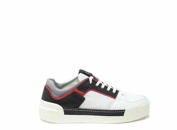 Farbblock-Sneaker
