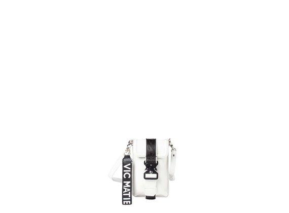 Fanny<br />Smartphone case in white calfskin