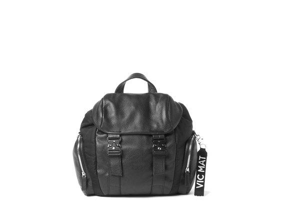 Kate<br>Schwarzer Rucksack mit Seitentaschen