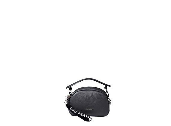 Babs Small<br>Mini-sac à anneaux noir.