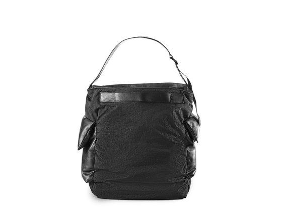 Meryl<br />Tasche aus Nylon und schwarzem Leder