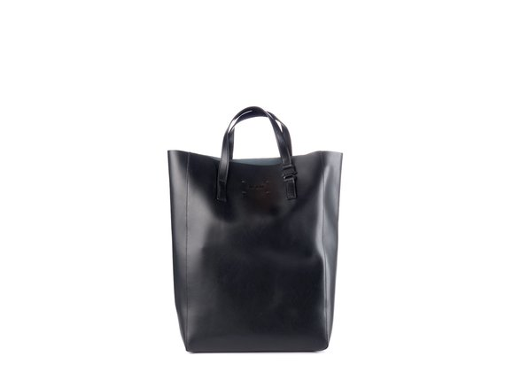 Olivia<br> Large black shopper bag