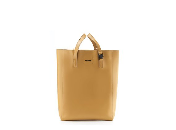 Olivia<br> Large tan-brown shopper bag