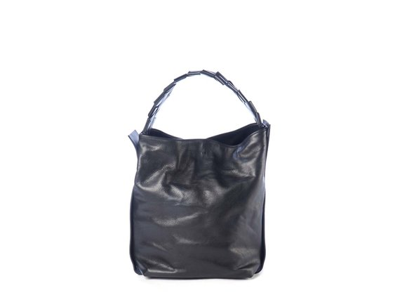 Vivian<br> Black shopper bag
