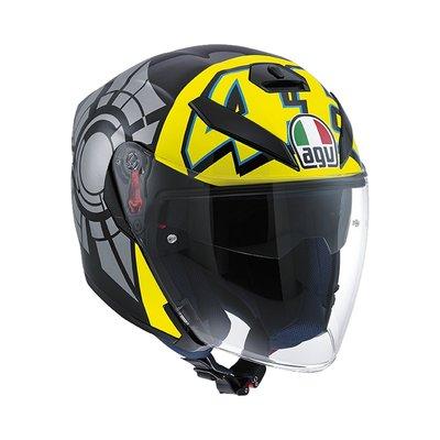 2012 Winter Test K-5 Jet helmet - Multicolor