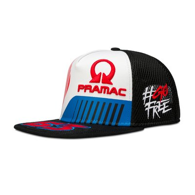 Bagnaia Pramac adjustable trucker