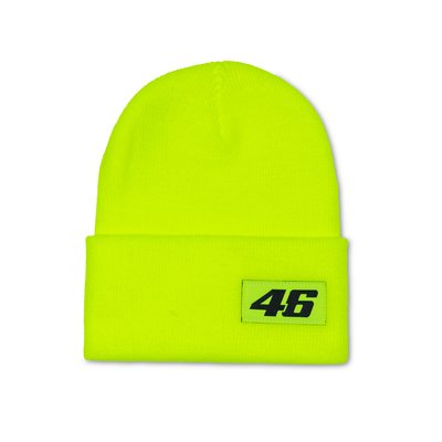 Core beanie - Yellow Fluo
