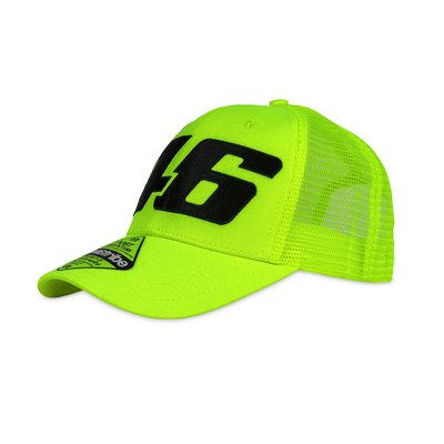 Core large 46 trucker cap yellow fluo