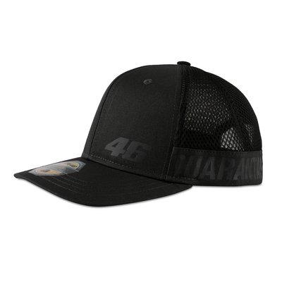 Trucker cap Core QUARANTASEI mid visor - Anthracite Grey