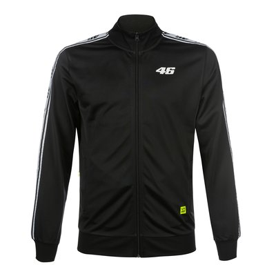 Core track jacket - Black