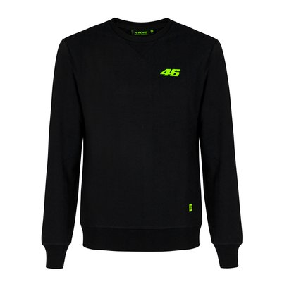 Black Crew Neck 46 Core sweatshirt