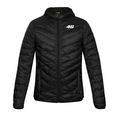 Core down jacket black