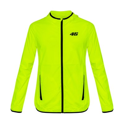 Core raincoat yellow fluo