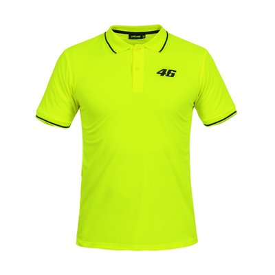 Polo Core small 46 giallo fluo