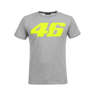 Tee-shirt Core gris à gros numéro46