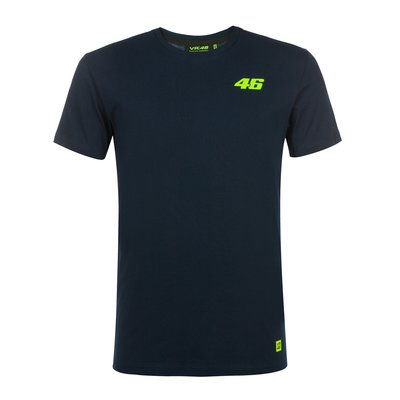 Tee-shirt Core bleu à petit numéro 46